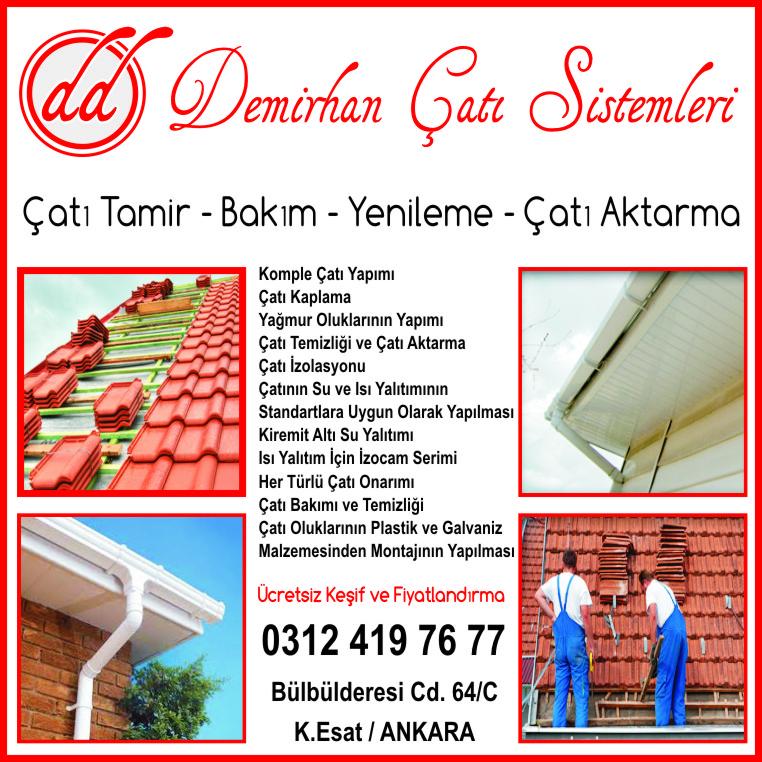 Ankara Çatı Tamiri Firmaları